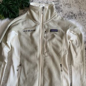 Patagonia X New Belgium Zip Up Better Sweater XS